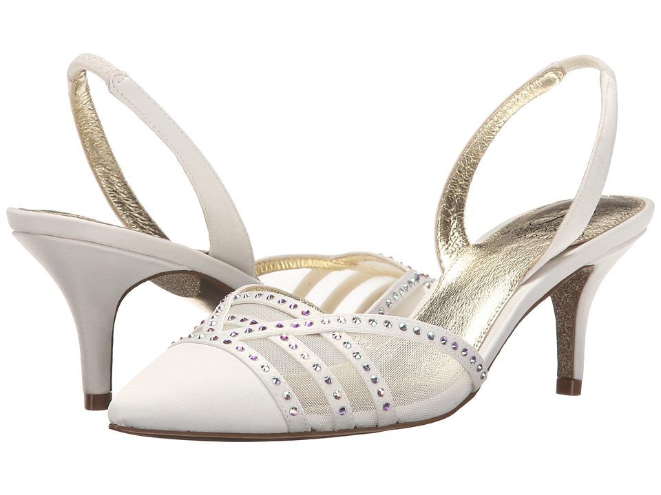 Adrianna Papell Hestia Ivory Classic Satin High Heels
