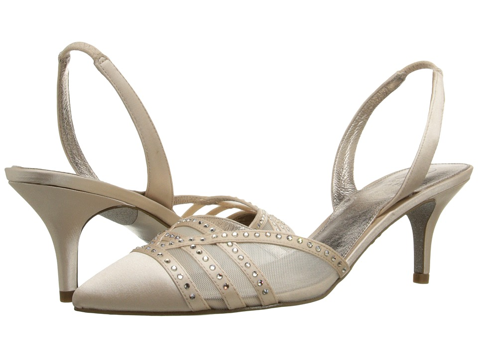Adrianna Papell Hestia Light Sand Lux Satin High Heels
