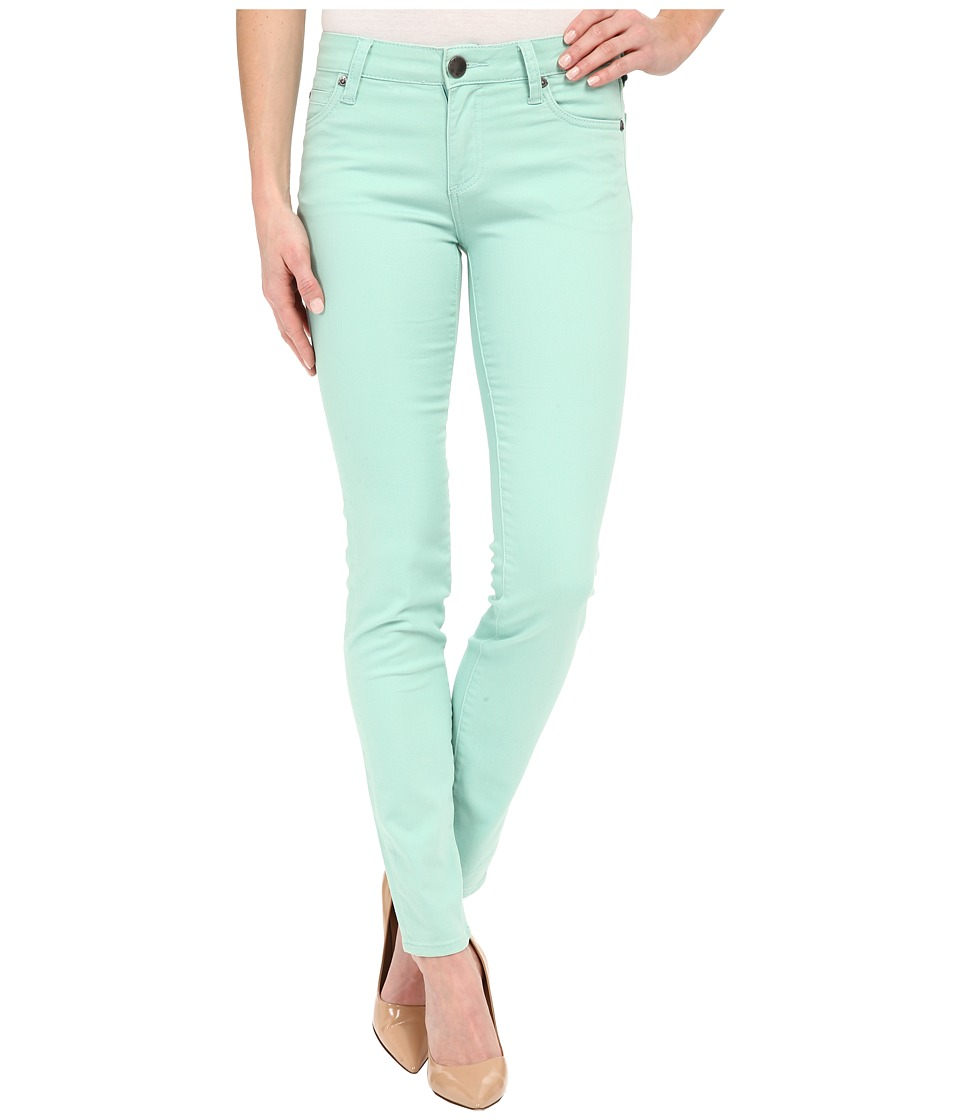 KUT from the Kloth Diana Skinny Jeans in Mint Mint Womens Jeans