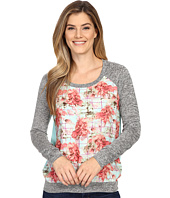 KUT from the Kloth - Yalitza Printed Floral Top