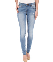 KUT from the Kloth - Mia Toothpick Five-Pocket Skinny Jeans in Valuable w/ Medium Base Wash