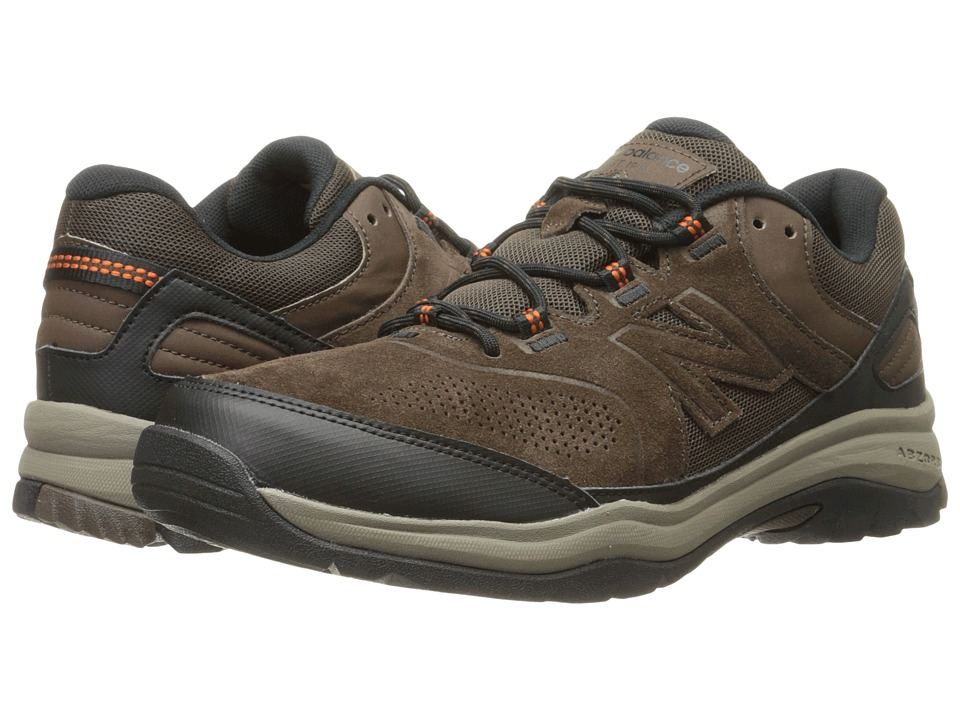 New Balance MW769v1 (Chocolate Brown/Black) Men's Walking...
