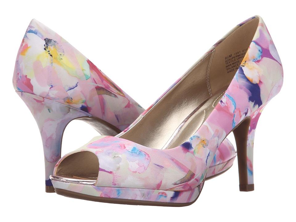 Bandolino Supermodel Medium Pink Multi Fabric Womens Shoes