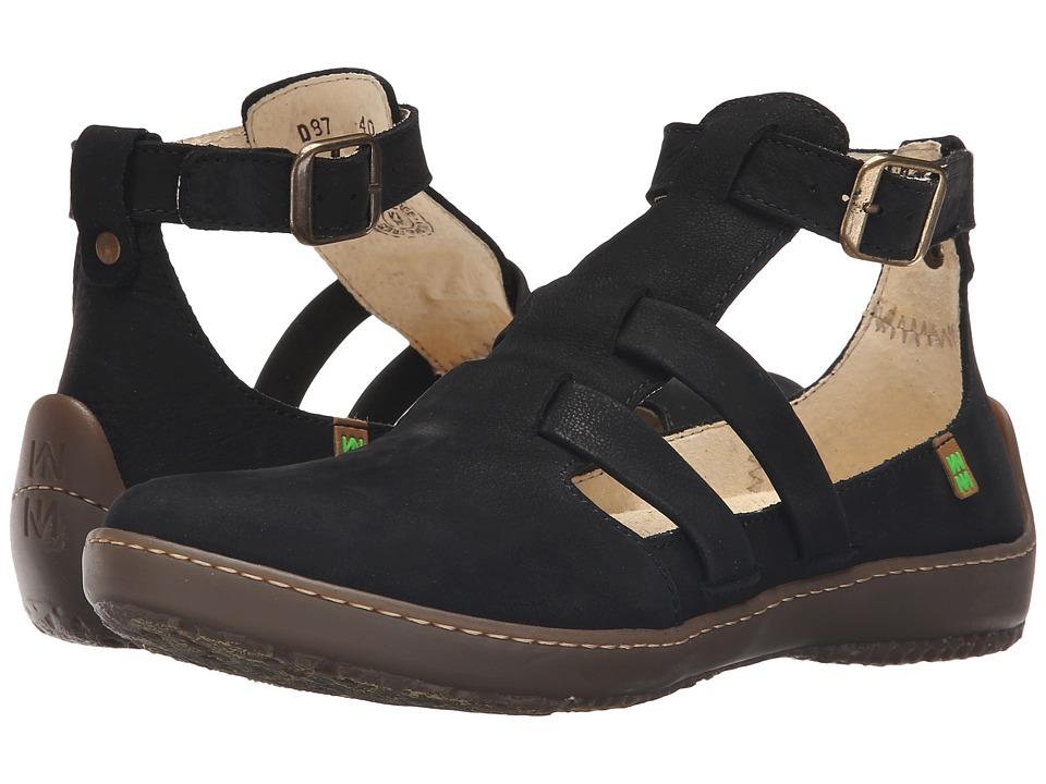 El Naturalista Bee ND87 Black Womens Shoes