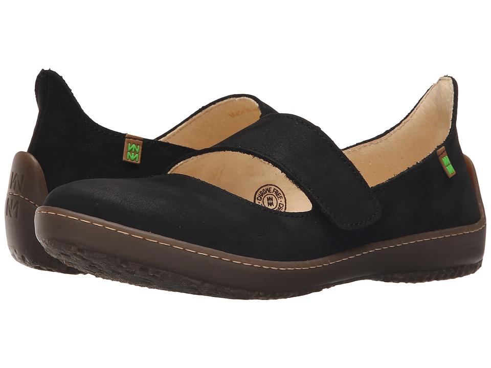 El Naturalista Bee ND85 Black Womens Shoes
