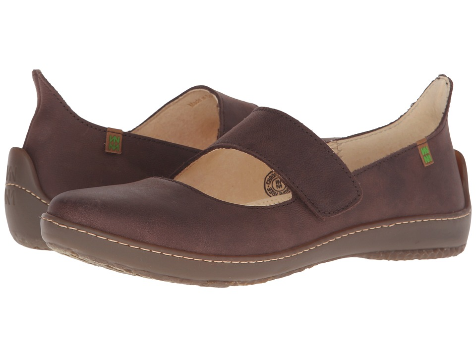 El Naturalista Bee ND85 Brown Womens Shoes