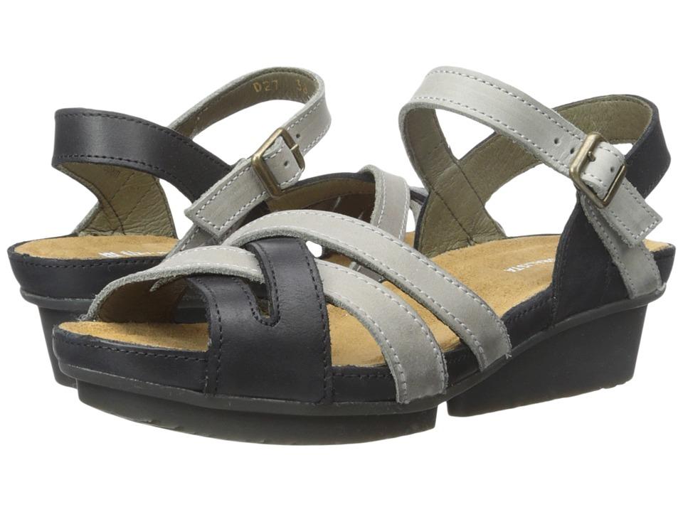 El Naturalista Code ND27 Black/Grey Womens Shoes