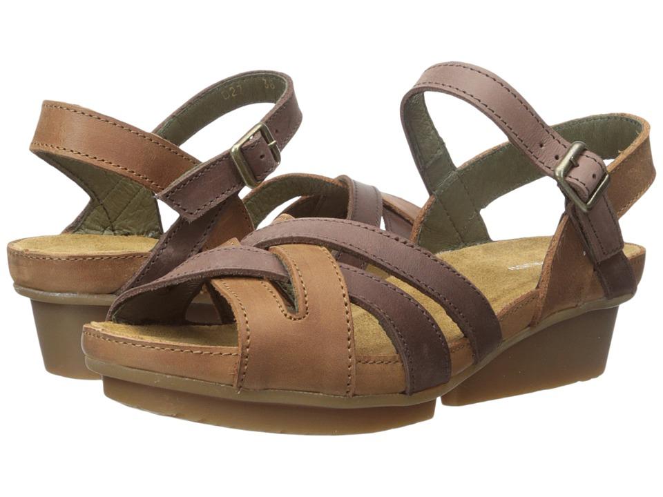 El Naturalista Code ND27 Wood/Brown Womens Shoes