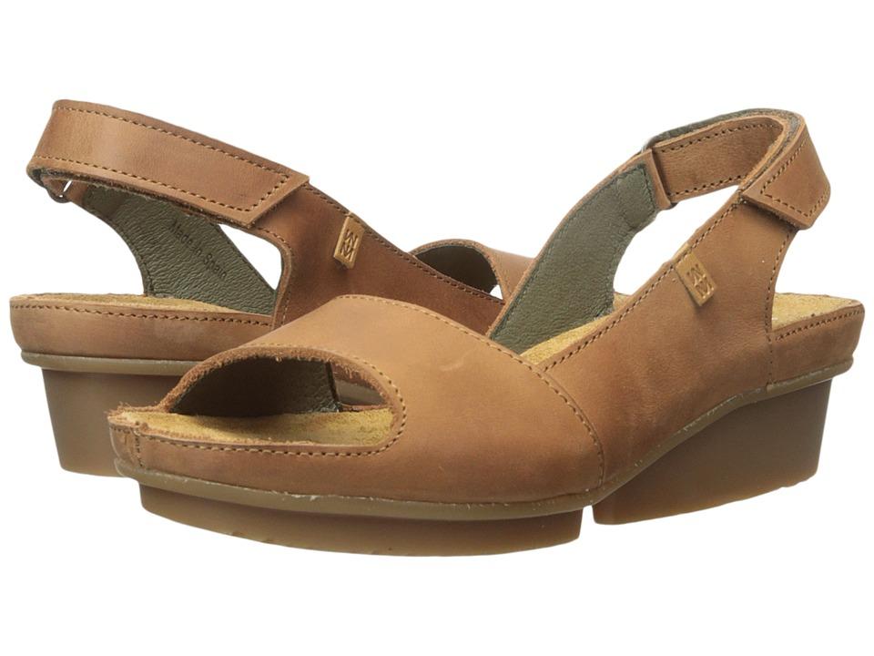 El Naturalista Code ND25 Wood Womens Shoes