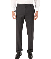 Perry Ellis - Slim Fit Pattern Flat Front Pants
