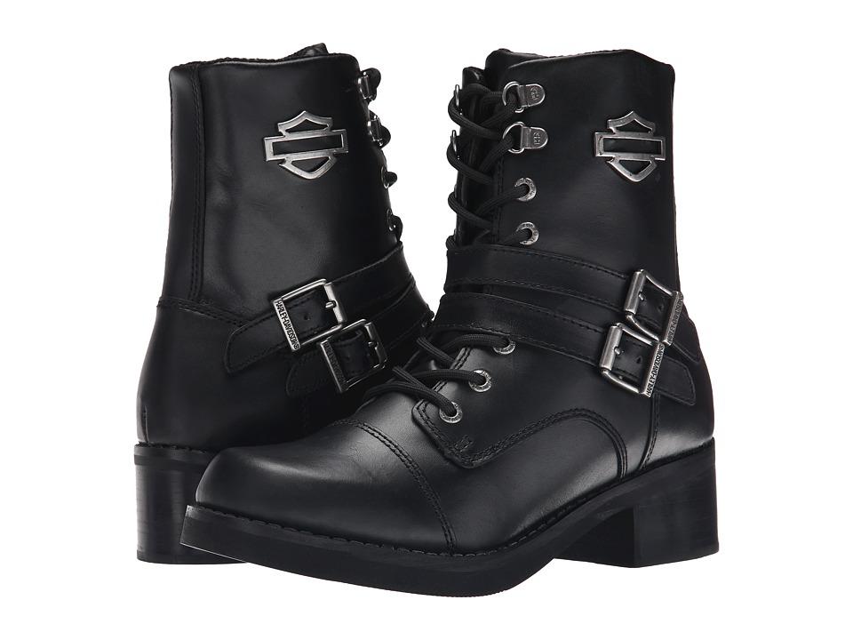 Harley Davidson Melinda (Black) Women's Lace-up Boots