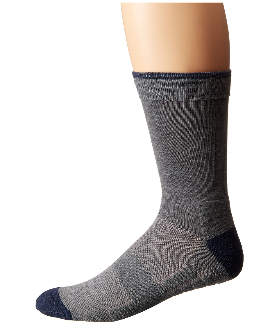 Ministry of Supply Atlas Dress Socks Medium Heather Grey Mens Crew Cut Socks Shoes