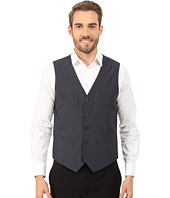 Perry Ellis - Tonal Mini Plaid Suit Vest