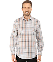 Perry Ellis - Heathered Check Pattern Shirt