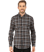 Perry Ellis - Heather Plaid Pattern Shirt