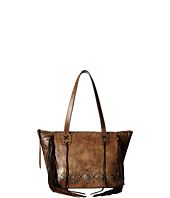 American West - Canyon Creek Zip-top Fringe Tote