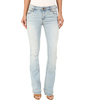 KUT from the Kloth - Chrissy Flare Jeans in Artistic w/ New Vintage Base Wash