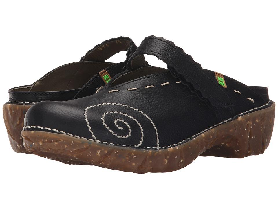 El Naturalista Yggdrasil NG96 Black Womens Shoes