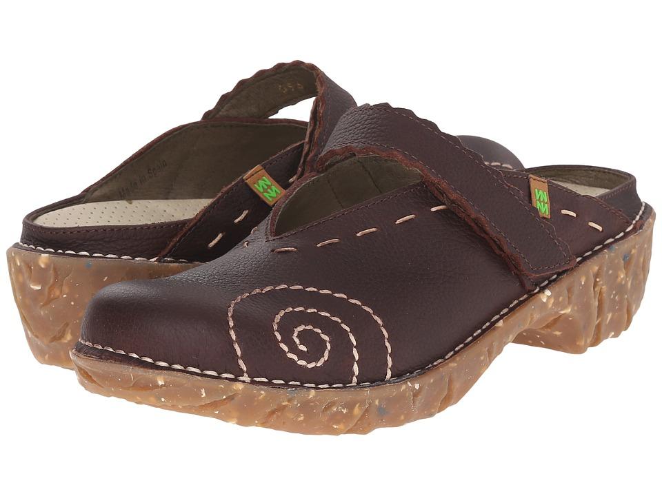 El Naturalista Yggdrasil NG96 Brown Womens Shoes