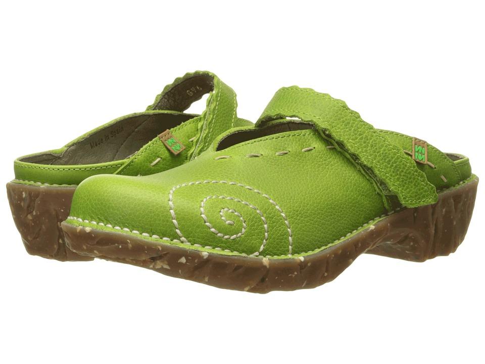 El Naturalista Yggdrasil NG96 Green Womens Shoes