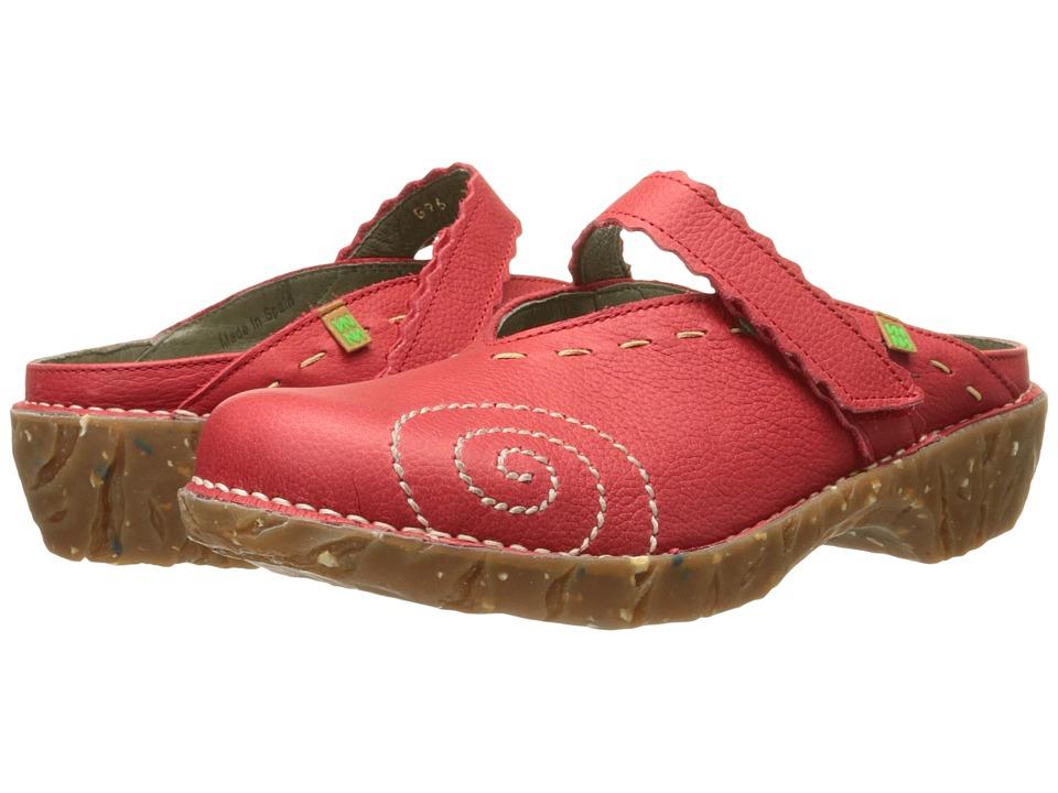 El Naturalista Yggdrasil NG96 Grosella Womens Shoes