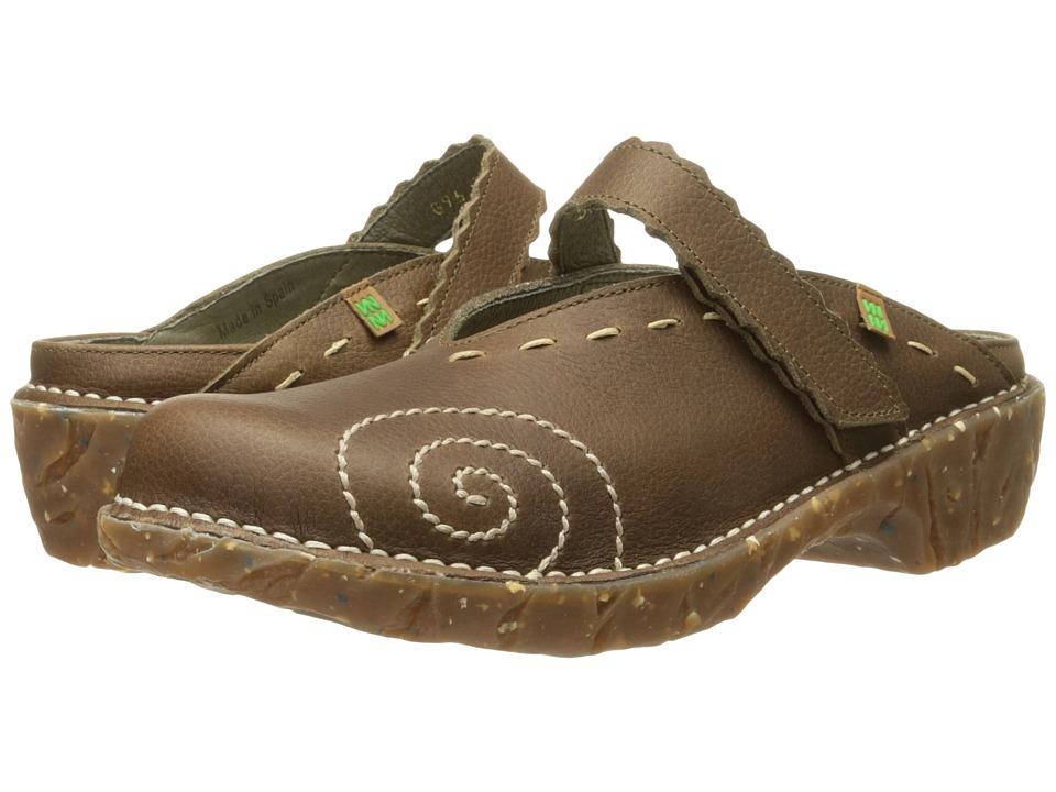 El Naturalista Yggdrasil NG96 Kaki Womens Shoes