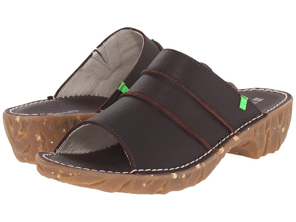 El Naturalista Yggdrasil NC91 Brown Womens Shoes