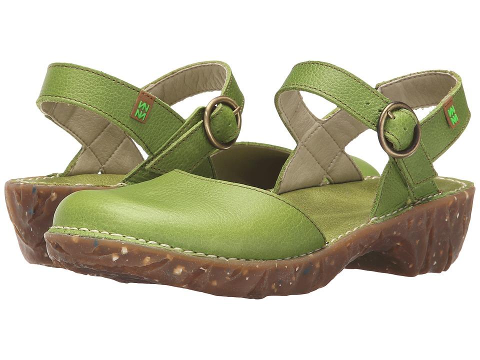 El Naturalista Yggdrasil N178 Green Womens Shoes