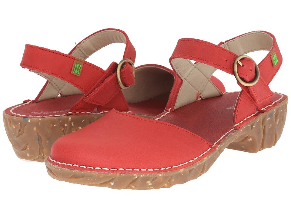 El Naturalista Yggdrasil N178 Grosella Womens Shoes