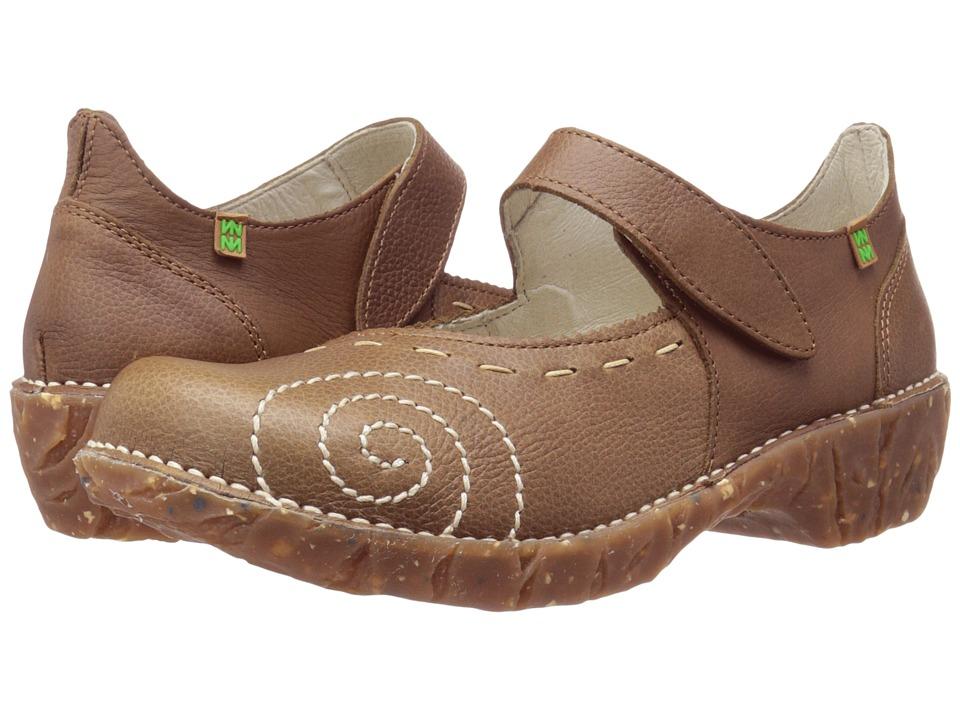 El Naturalista Yggdrasil N095 (Kaki) Maryjane Shoes