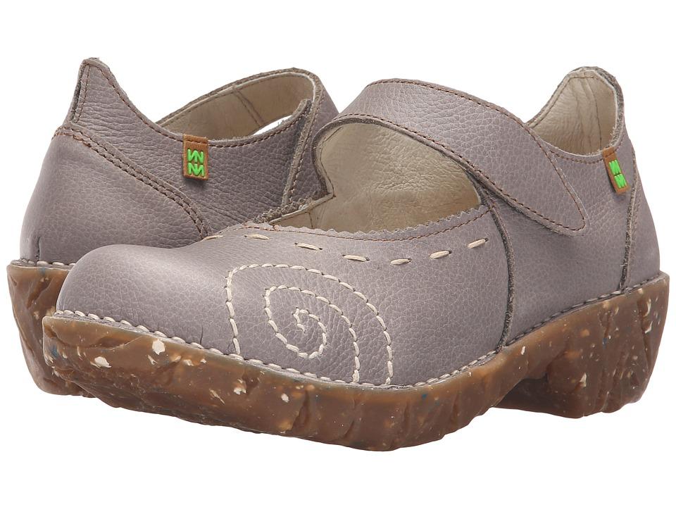 El Naturalista Yggdrasil N095 (Grey) Maryjane Shoes
