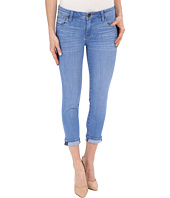 KUT from the Kloth - Catherine Slim Boyfriend Jeans in Resilient w/ Medium Base Wash