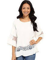 KUT from the Kloth - Pierce 3/4 Sleeve Lace Top