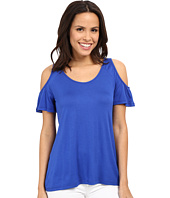 KUT from the Kloth - Carolina Cold Shoulder Top