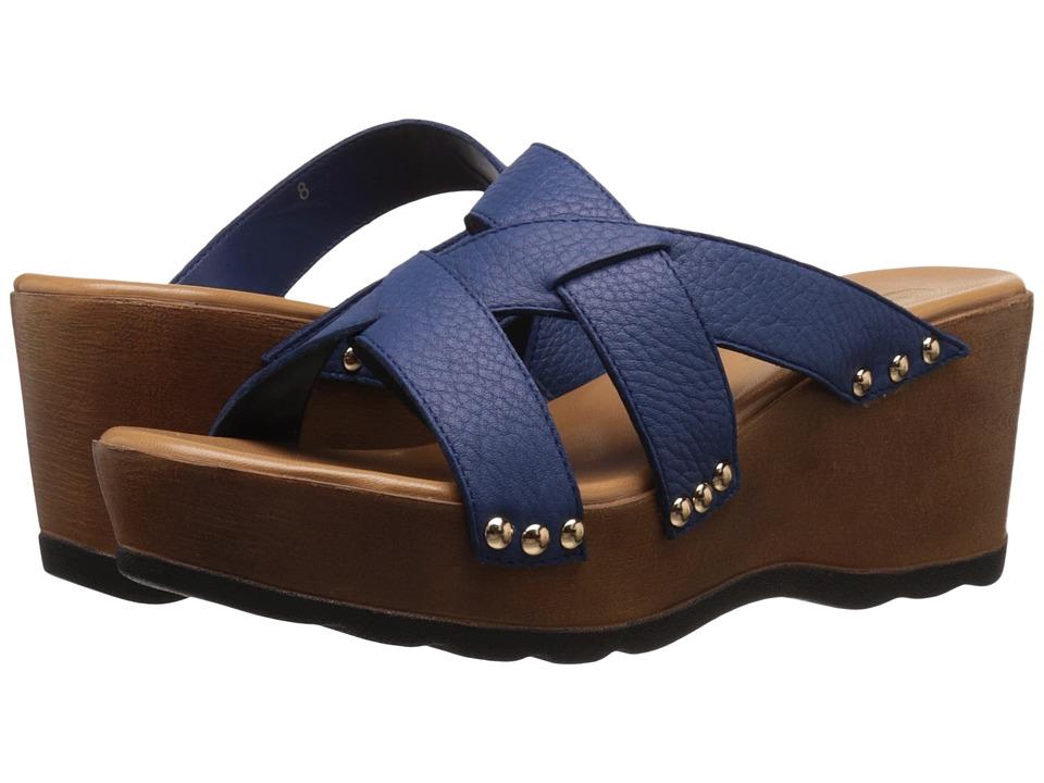 Callisto of California Syrah Royal Womens Clog/Mule Shoes