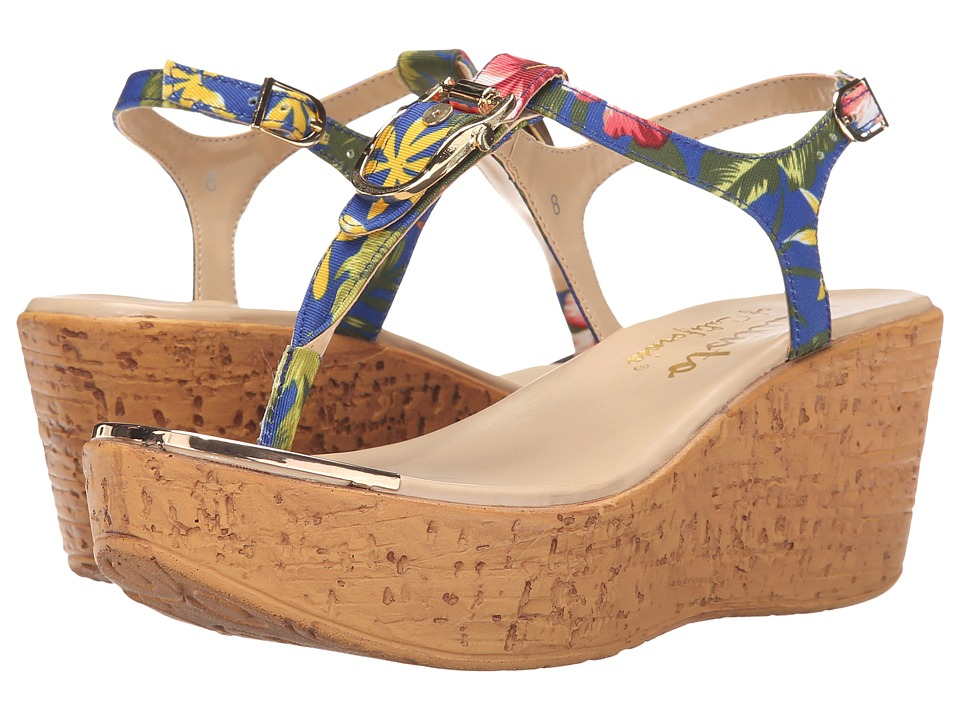 Callisto of California Bindi Floral Womens Sandals