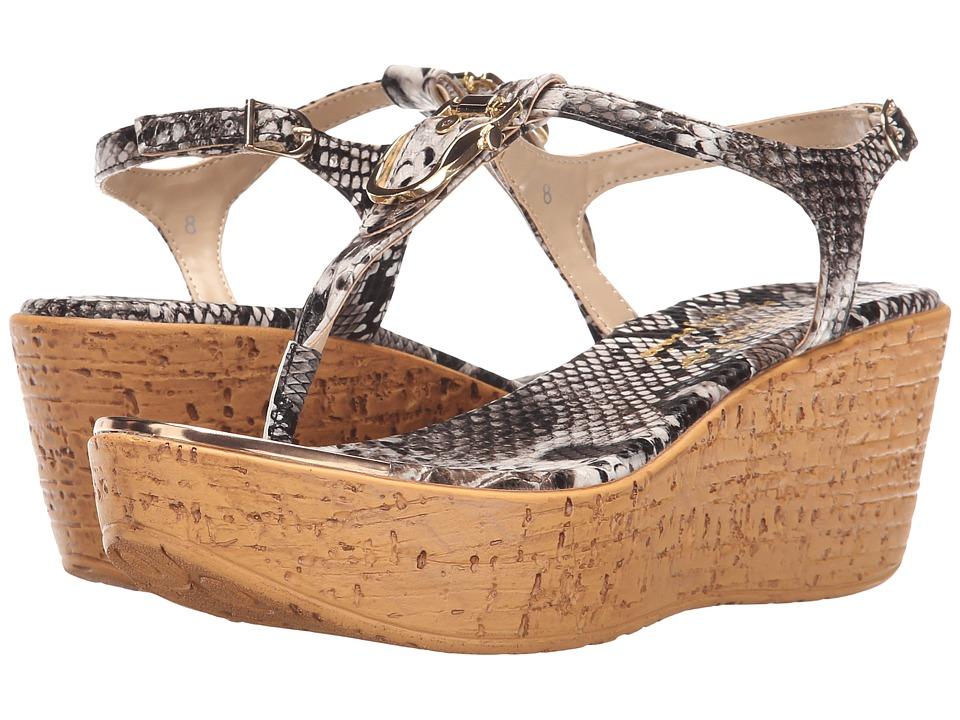 Callisto of California Bindi Python Womens Sandals