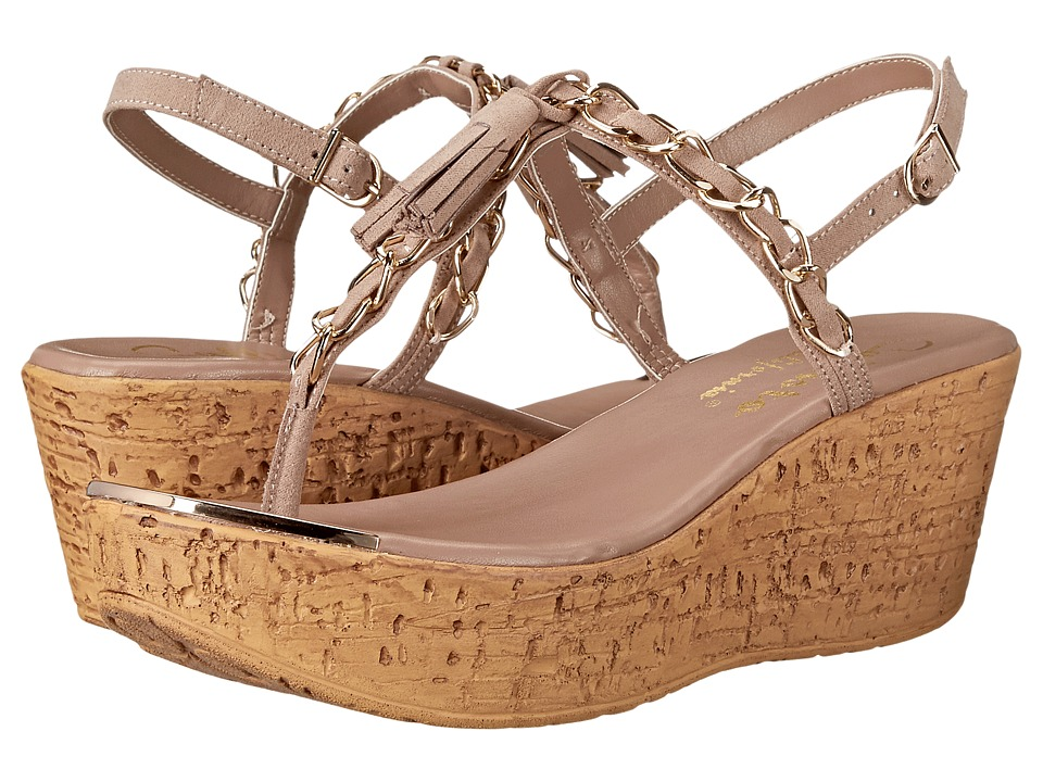 Callisto of California Tamtam Nude Womens Wedge Shoes