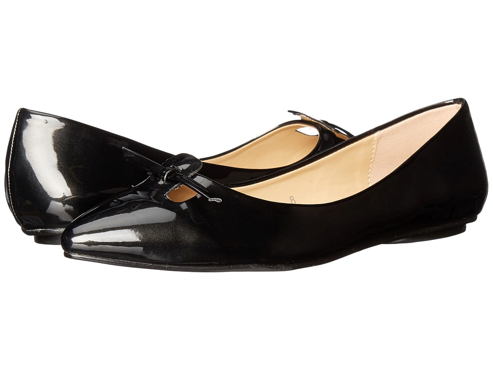 Callisto of California Polished Black Patent Womens Shoes