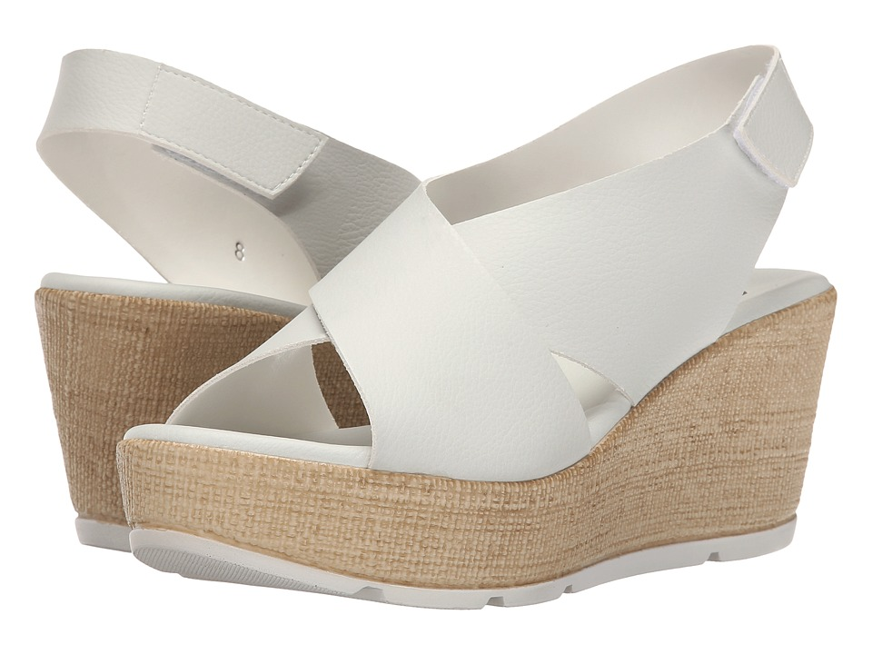 Callisto of California Callye White Womens Sandals