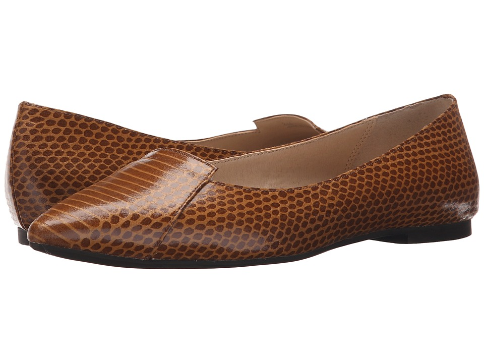 Callisto of California Justine Copper Womens Dress Flat Shoes