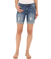 KUT from the Kloth - Catherine Boyfriend Shorts in Triumph w/ Medium Base Wash