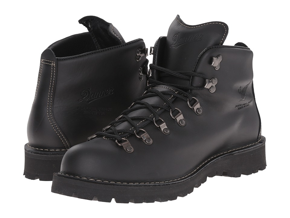 danner mountain light ii black men 39 s boots. Black Bedroom Furniture Sets. Home Design Ideas