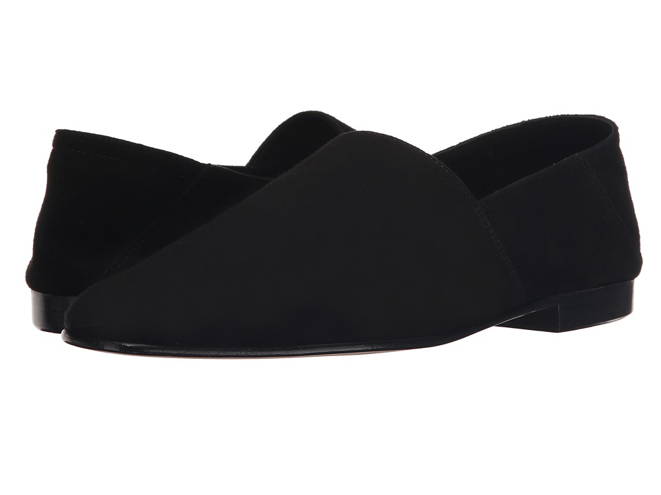Mr. Hare Arno Black Mens Slip on Shoes