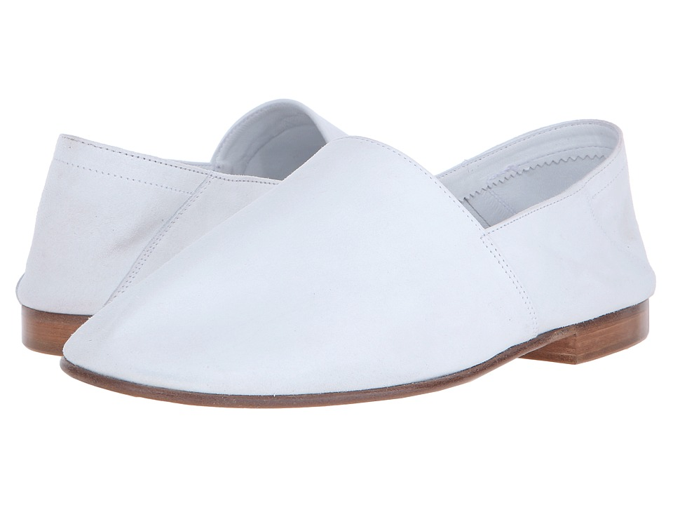 Mr. Hare Arno White Mens Slip on Shoes