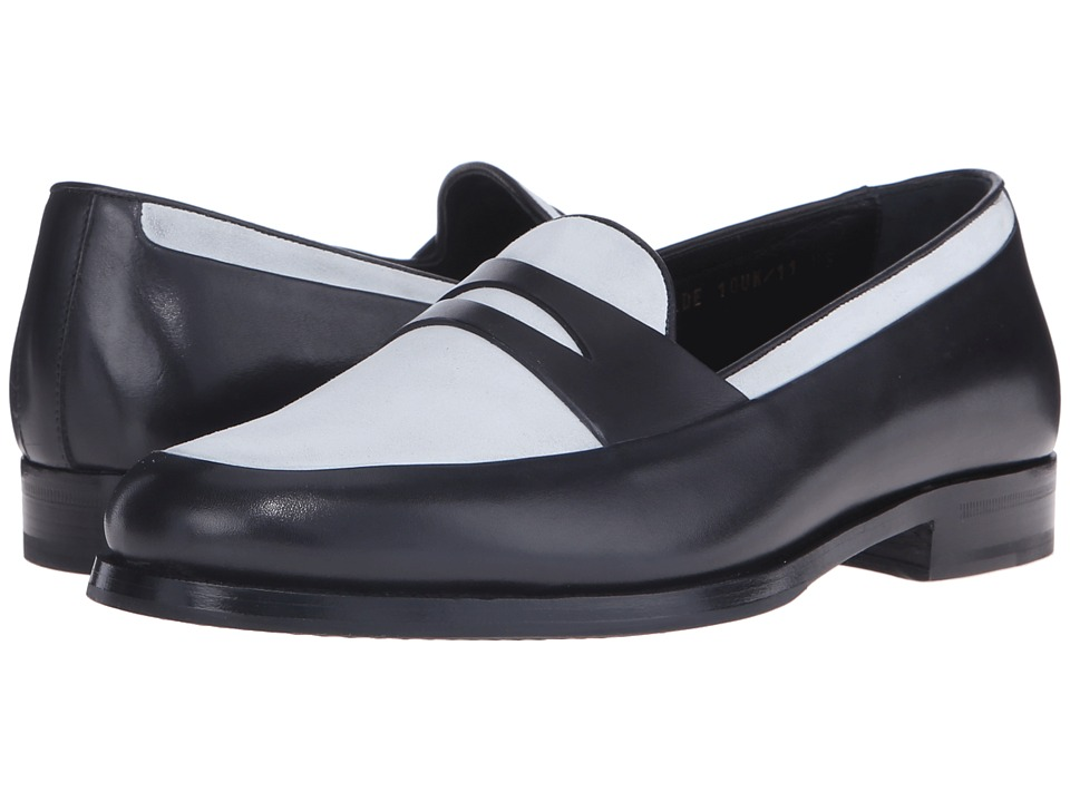 Mr. Hare Penny Wilde Black/White Mens Slip on Shoes