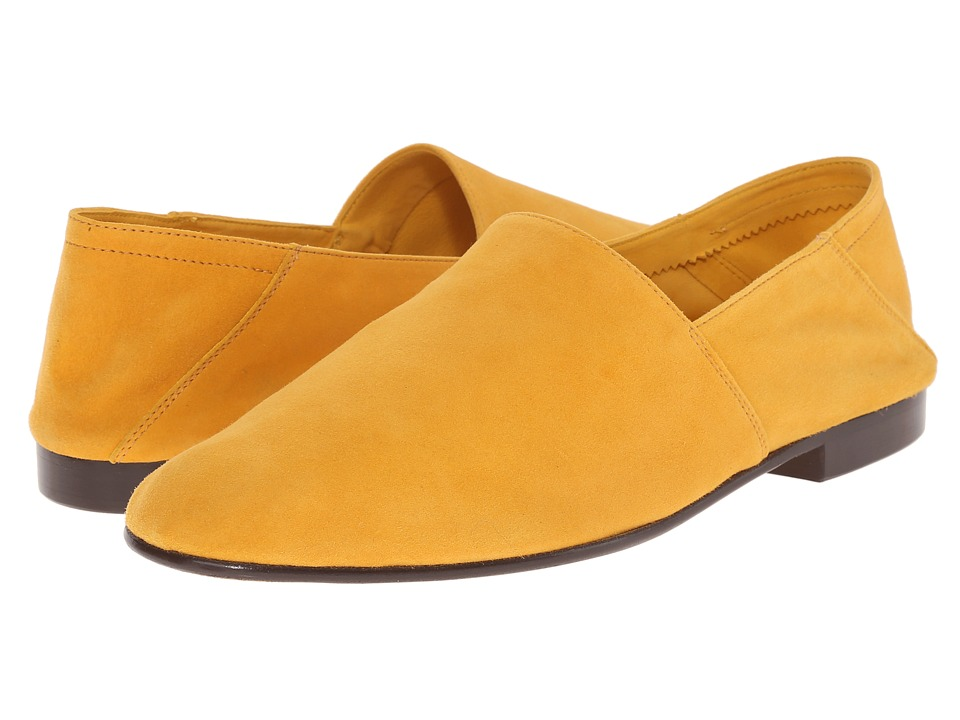 Mr. Hare Arno Yellow Mens Slip on Shoes