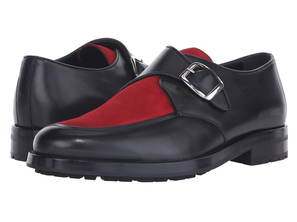 Mr. Hare Bacon Black/Red Mens Slip on Shoes