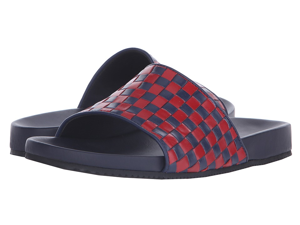Mr. Hare Pomp Eagles Blue/Red Mens Sandals