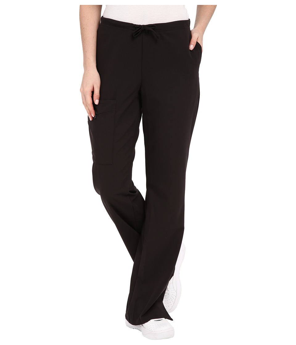 Jockey Front Drawstring Pants Black Womens Casual Pants